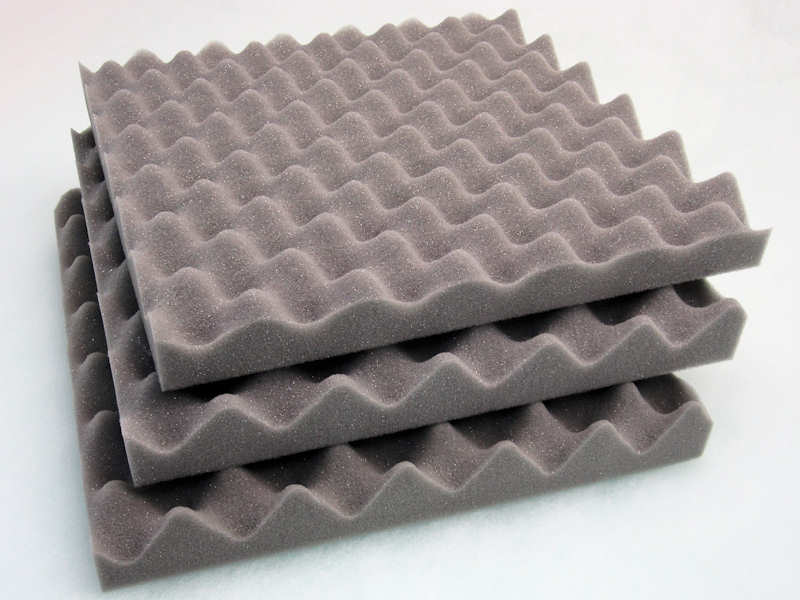 Acoustic Soundproofing Foam Tiles Convoluted Egg Profile