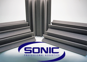 Sonic Acoustic Professional range of soundproofing tiles and bass traps