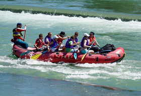 foam used in whitewater activities
