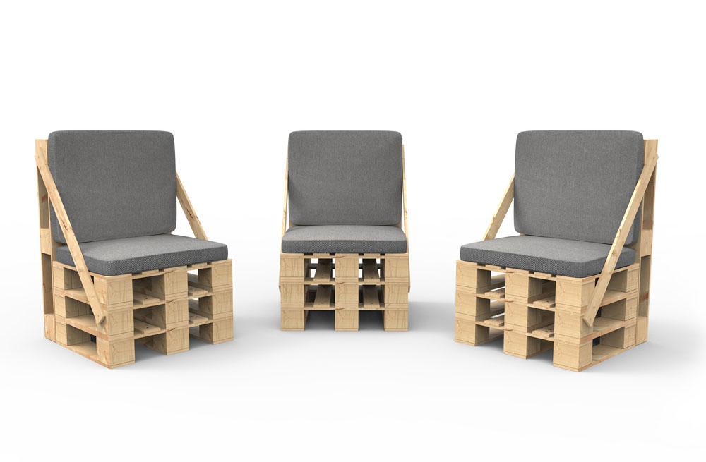 Pallet Furniture Example 1 ...