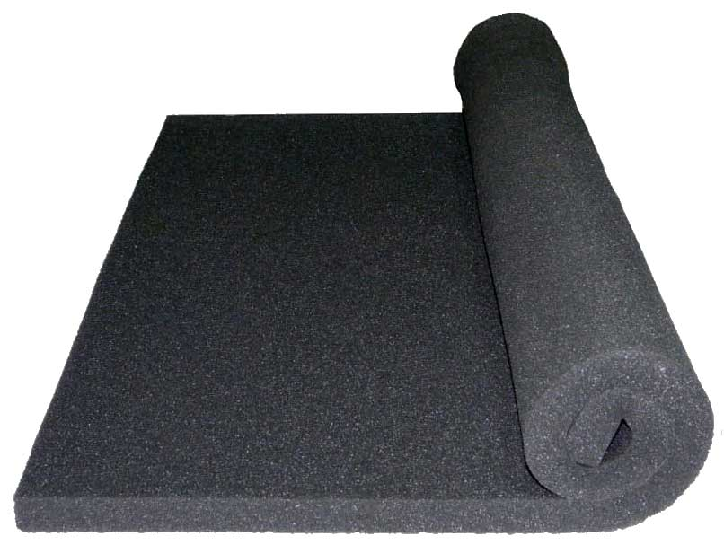 Acoustic foam treatment soundproofing tiles bass traps for Sound proof wall padding