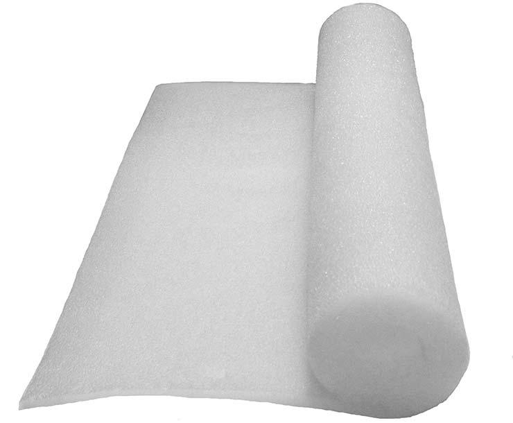 Packaging foam selection