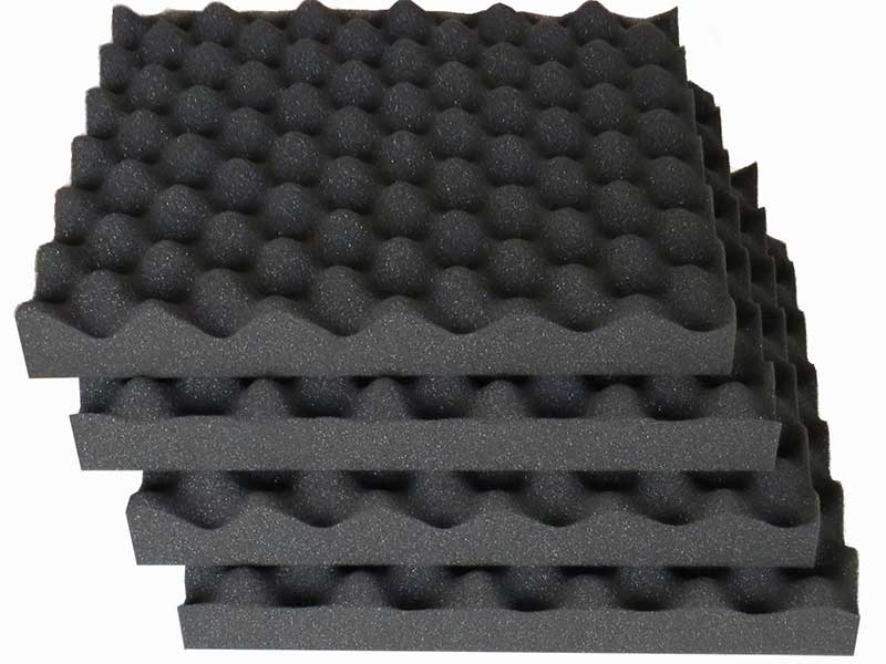 Acoustic foam tiles and panels for Sound proof wall padding